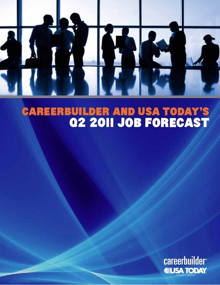 Job Forecast Us Q2-2011 Fa