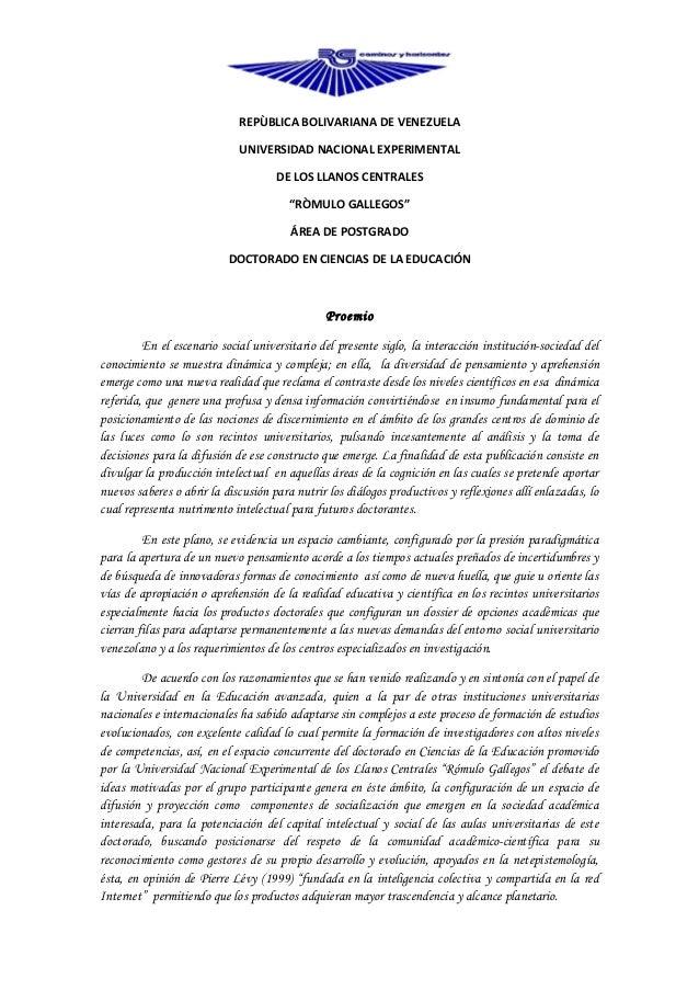 REPÙBLICA BOLIVARIANA DE VENEZUELA                             UNIVERSIDAD NACIONAL EXPERIMENTAL                          ...
