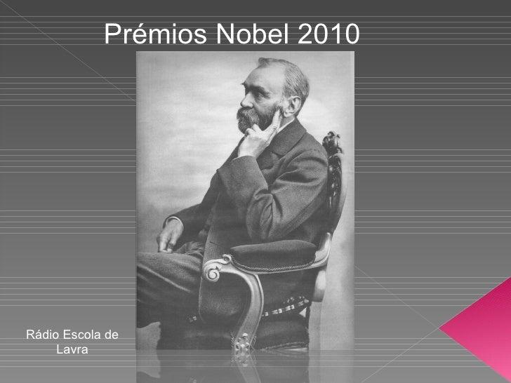 Prémios Nobel 2010