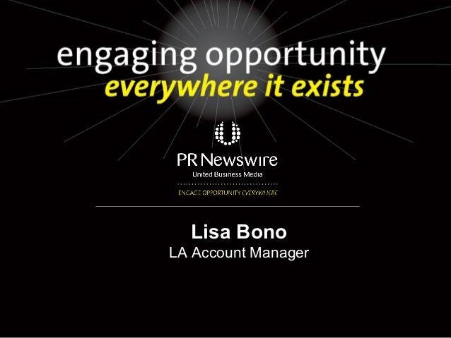 Lisa BonoLA Account Manager