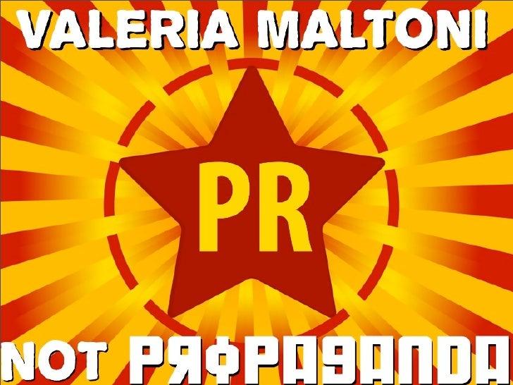 PR, Not Propaganda - Web 2.0 Expo
