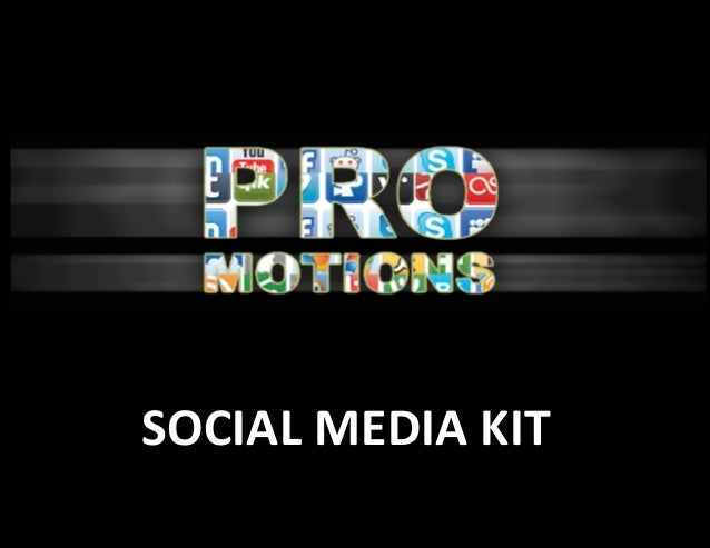 Pro-Motions Social Media Kit