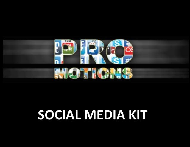 Pro-Motions Social Media Kit