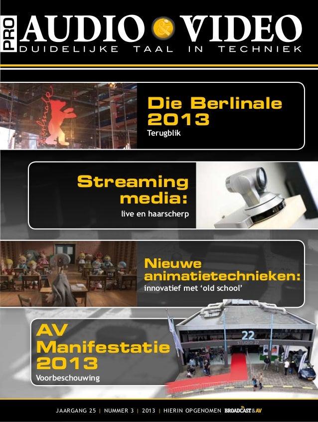 Pro Audio Video - Mei 2013