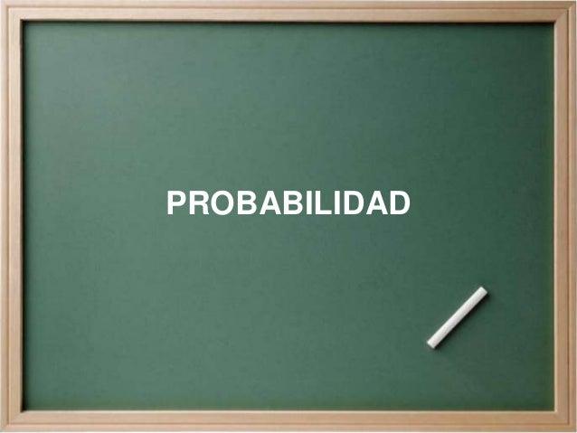 Probabilidad final