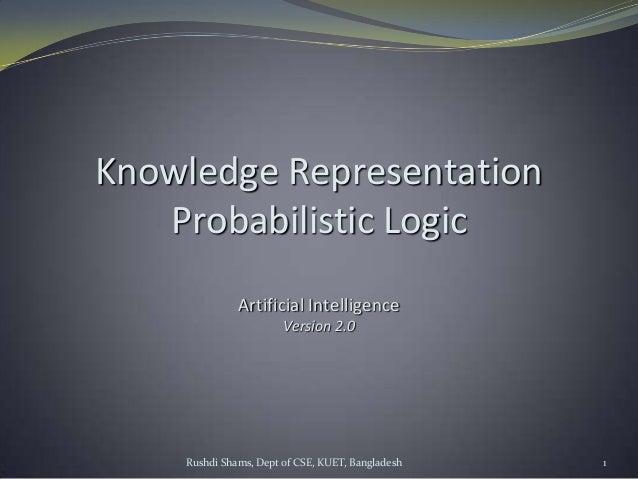 Probabilistic logic
