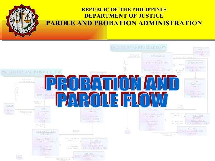 Probation And Parole Flow (Presentation)