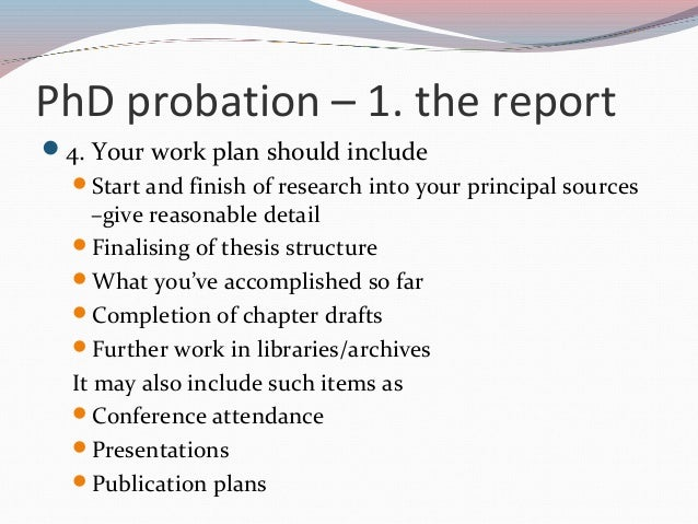 phd thesis writing plan If the thesis is for a phd, the university requires that it make an original contribution to human knowledge: your research must discover something hitherto unknown obviously your examiners will read the thesis.