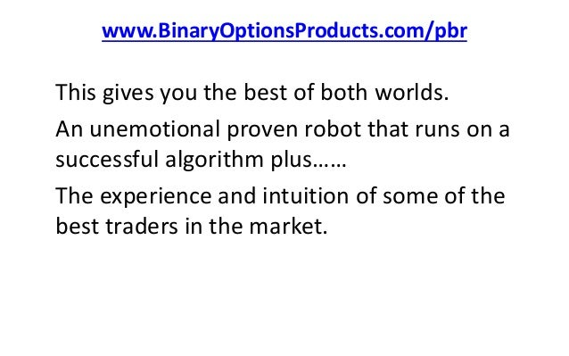 Pro binary robot review