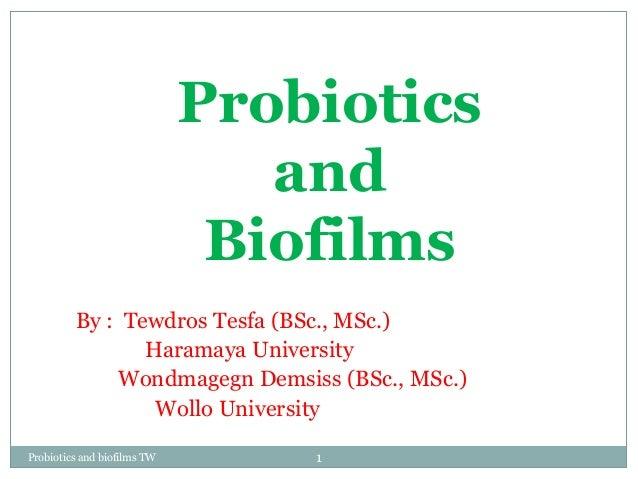 Ppt. on probiotics and prebiotics