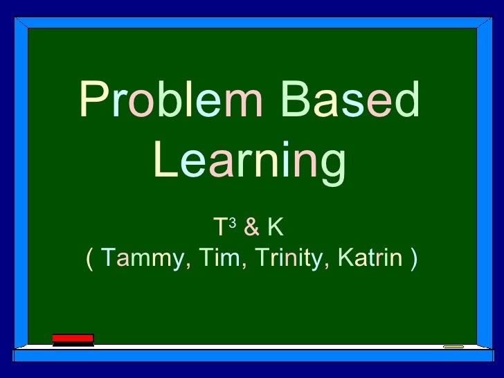 Problem Based Learning2