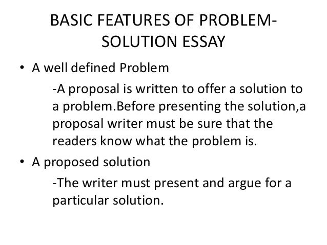 introduction problem solution essay