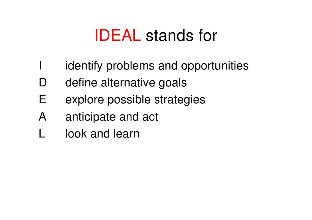 Problem solving ideas that work for Ea definition
