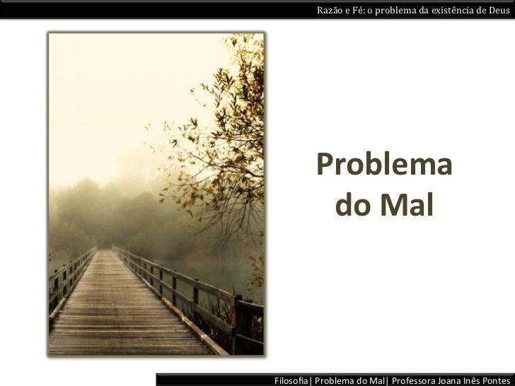 Problema do mal