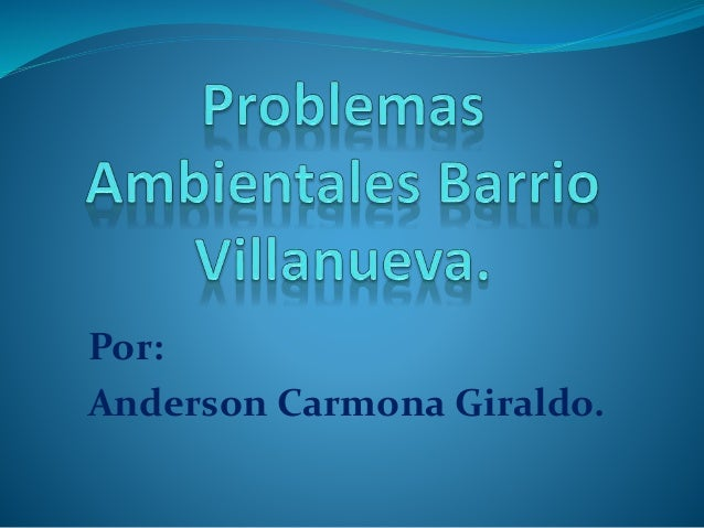 Por: Anderson Carmona Giraldo.