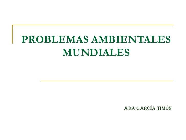 Problemasambietales