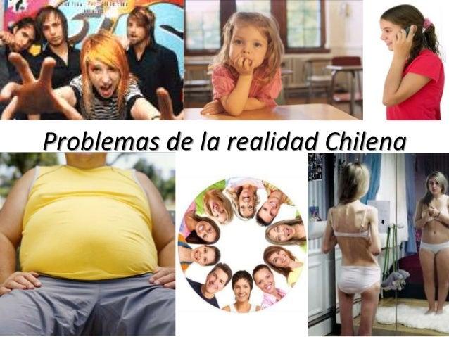 Problemas de la realidad Chilena