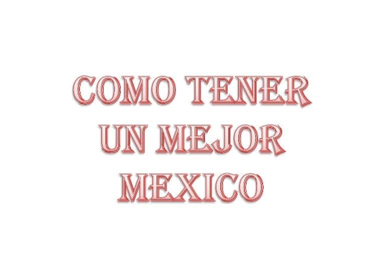 Problemas De Mexico