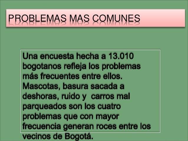 PROBLEMAS MAS COMUNES