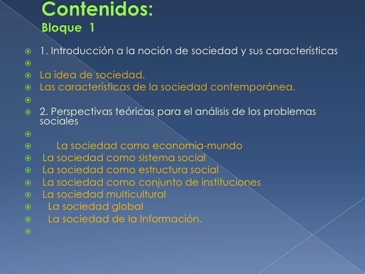 Problemas sociales contemporaneos for Caracteristicas de los contemporaneos