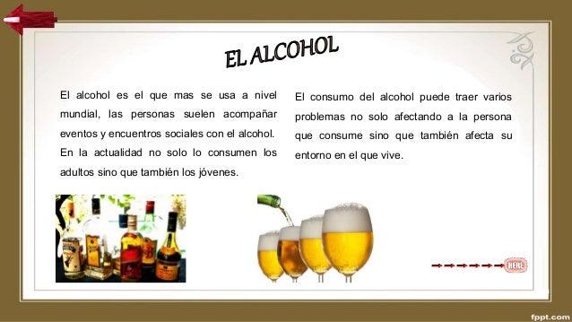 El alcoholismo como el fenómeno público