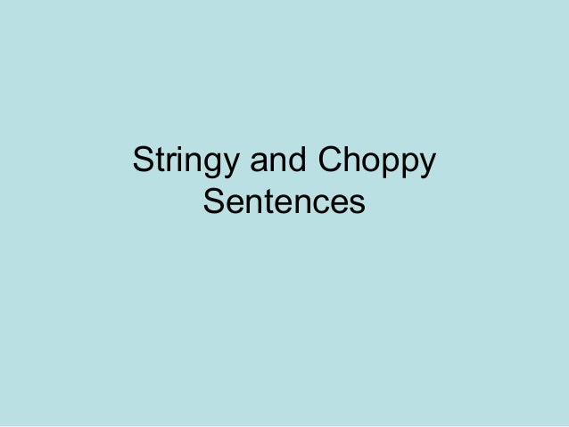 Problem Sentences Continued