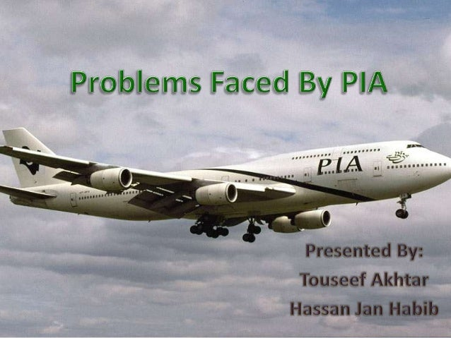 Managerial Problems faced by pia