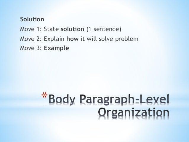 intersect problem solution and defense essay For this owl resource, the example exploratory process investigates a local problem to gather more information so that eventually a solution may be suggested.