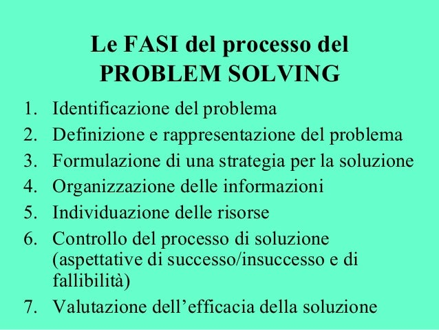 problem solving essay example