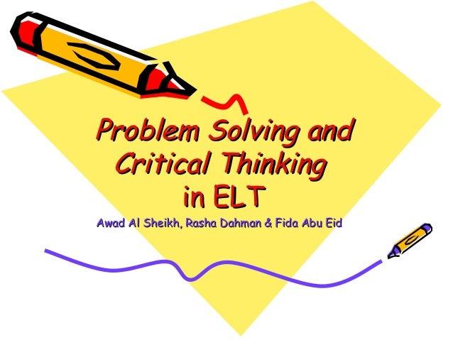 problem solving coursework