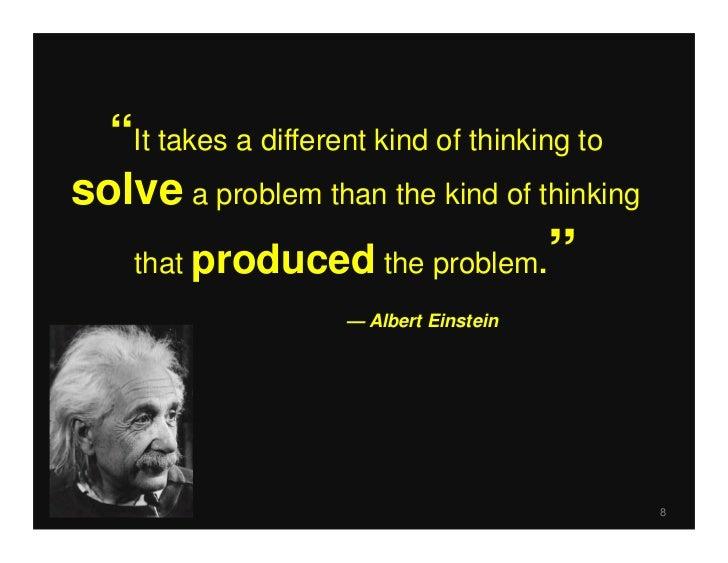 critical thinking vs problem solving