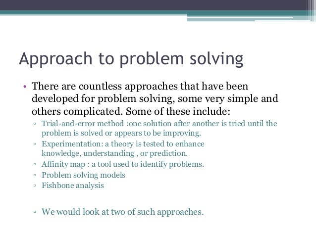 Problem Solving Essay Ideas A List Of Interesting Problem Solution Research Paper Ideas
