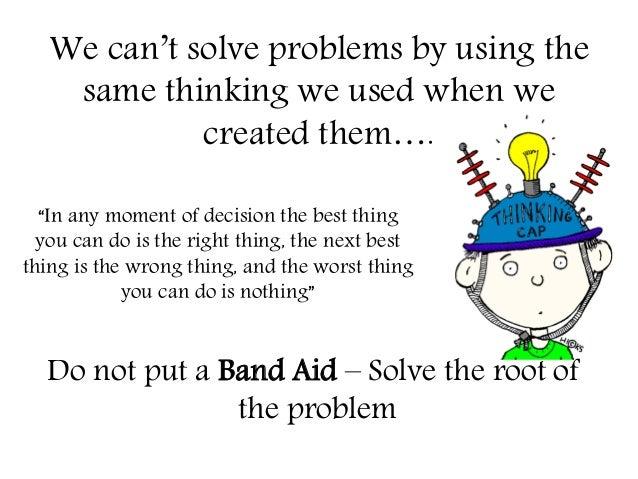 Solve Problem Synonym