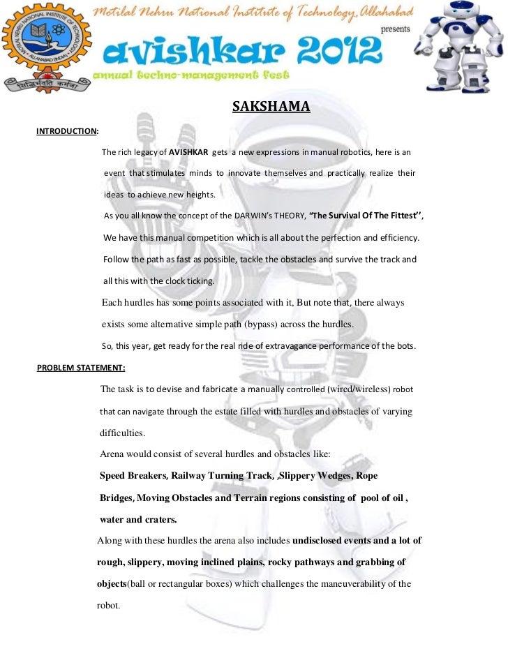Problem statement  - Sakshama