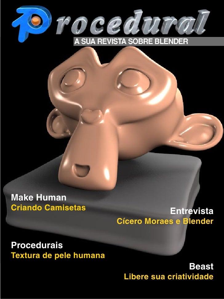 Make Human Criando Camisetas                    Entrevista                          Cícero Moraes e Blender  Procedurais T...