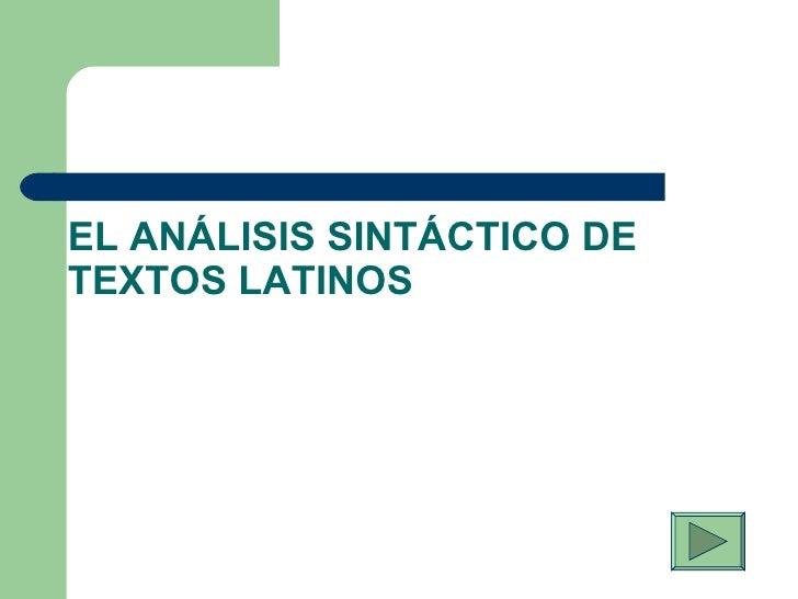 Proc Analisis