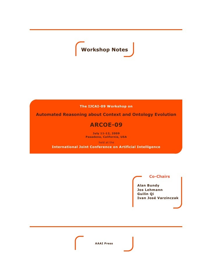 Proceedings of ARCOE'09