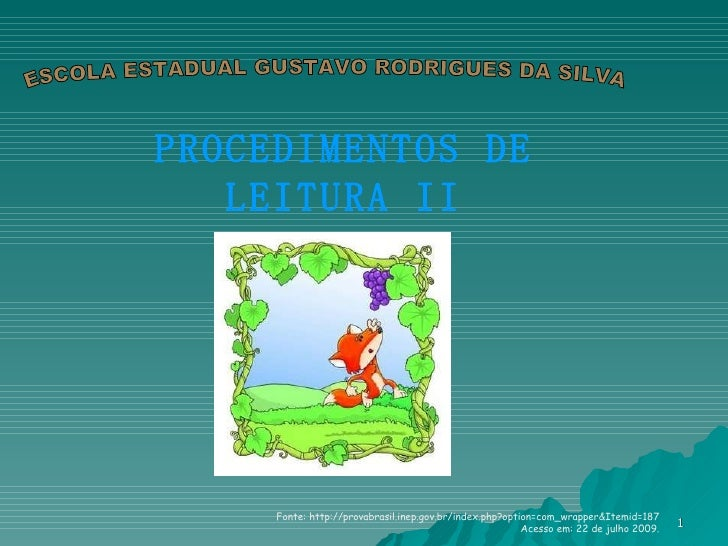 Procedimentos De Leitura 2