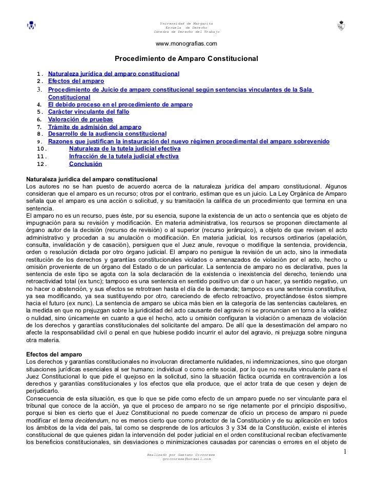 Universidad de Margarita                                                    Escuela de Derecho                            ...