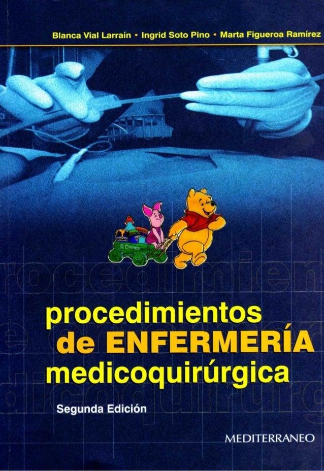 Procedimientos de Medicina Quirúrgica Blan Vial