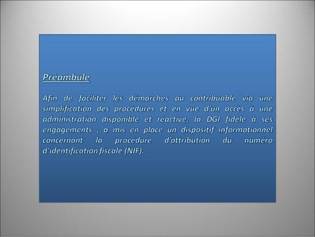 NOUVEAU : Envoi de  la demande d'  immatriculation par  messagerie  Envoi des renseignements d'identification par messager...