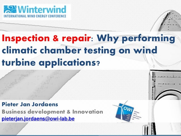 winterwind 2015 conference inspection repair session