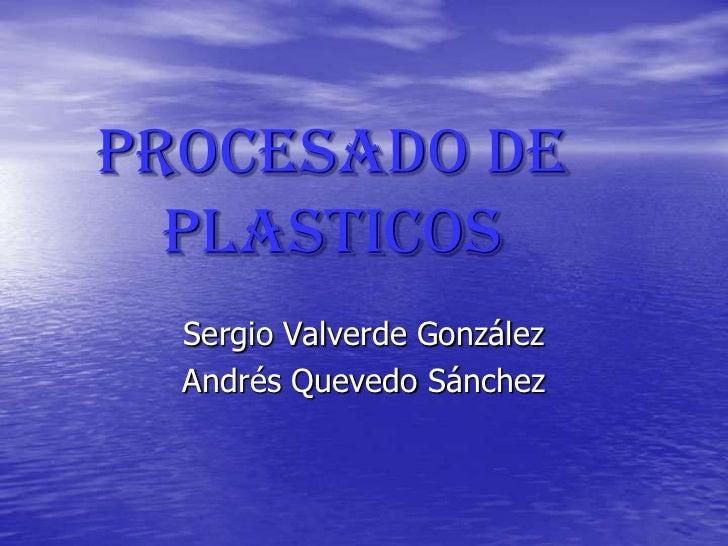 Procesado de plasticos 4