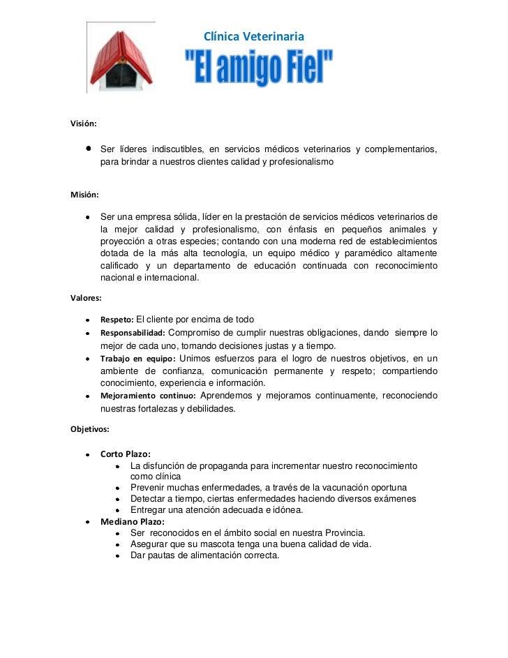 Proceso administrativo - Proyecto clinica veterinaria ...