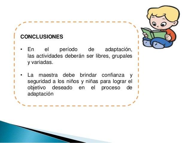 Proceso de adaptacion de ni os y ni as de 1 a 2 a os por for Adaptacion jardin maternal