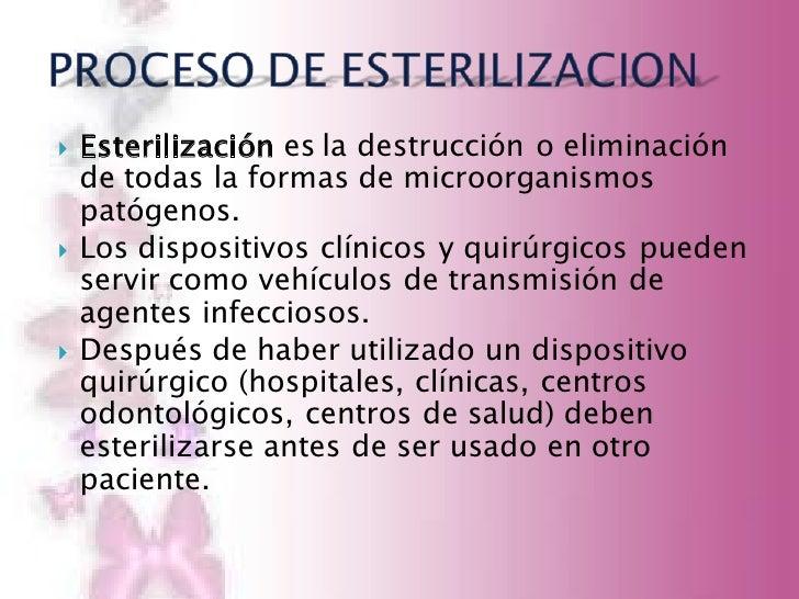 M todos de esterilizaci n y desinfecci n