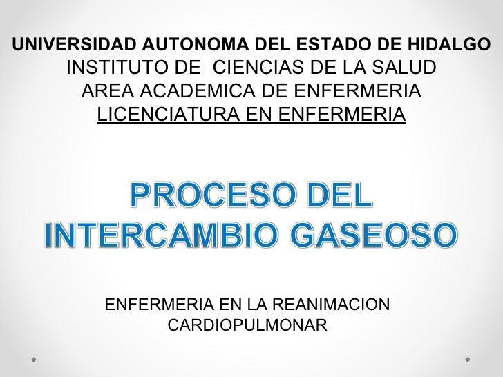 UNIVERSIDAD AUTONOMA DEL ESTADO DE HIDALGO INSTITUTO DE  CIENCIAS DE LA SALUD AREA ACADEMICA DE ENFERMERIA LICENCIATURA EN...