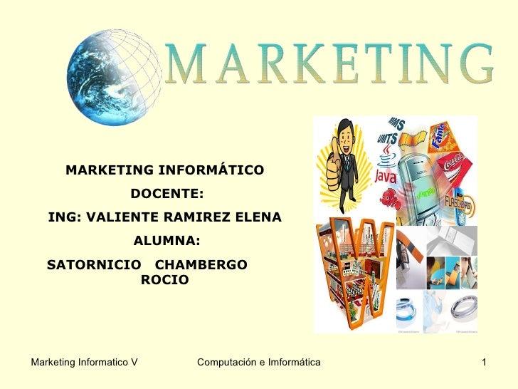 Proceso De Marketing (Etapas)