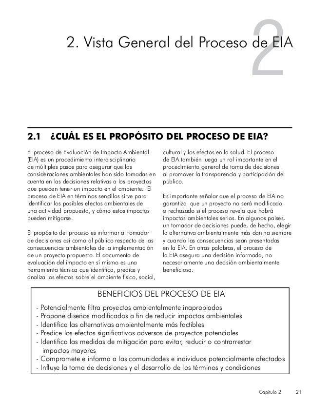 Proceso EIA