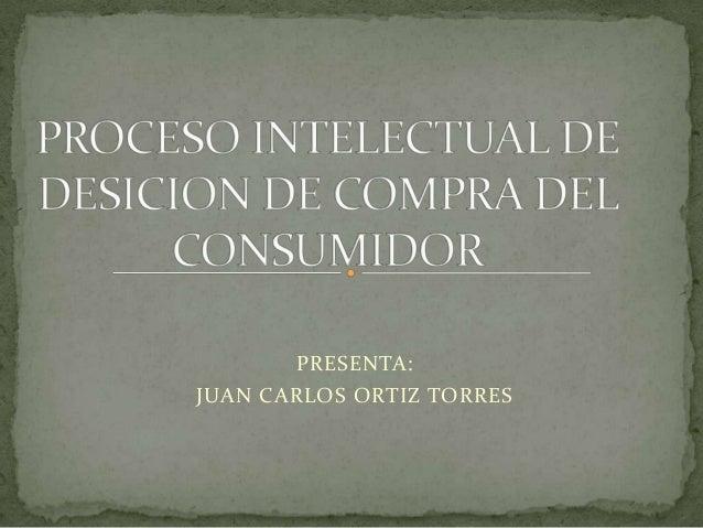 PRESENTA:JUAN CARLOS ORTIZ TORRES